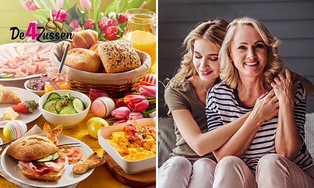 Thuisbezorgd of afhalen: paas- of moederdagbrunch voor 2