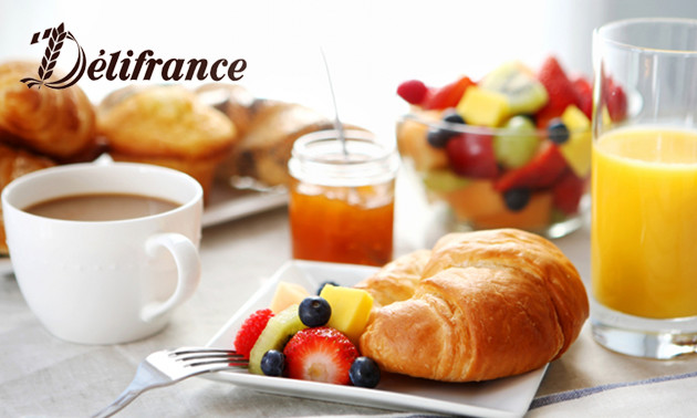 Ontbijt voor 2 bij Délifrance