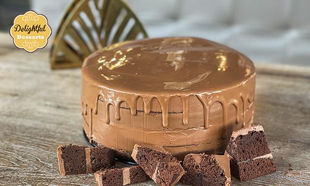 Afhalen: chocoladetaart voor 16 personen