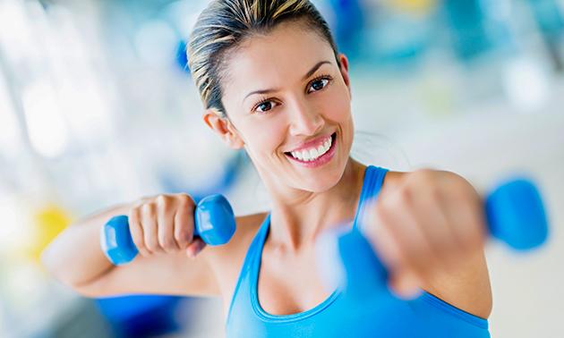 10x groepslessen, fitness of eGym
