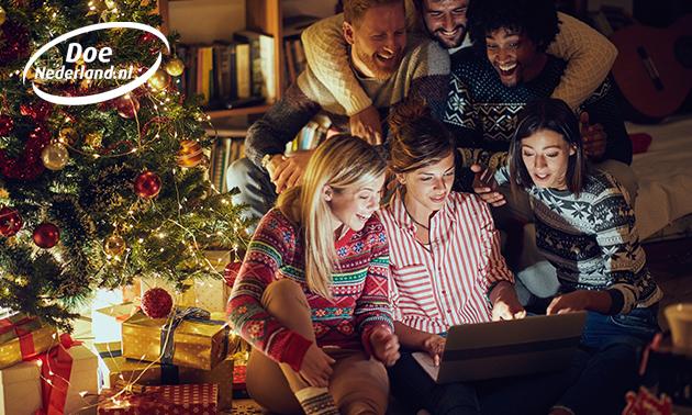 Escape kerst game voor 1-4 personen bij jou thuis