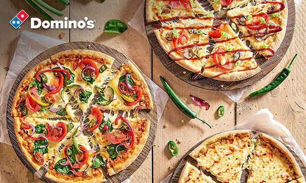 Afhalen: Domino's pizza naar keuze evt.+ chicken combobox
