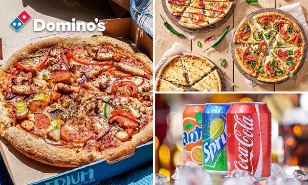 Afhalen bij Domino's: pizza naar keuze evt. + drankje
