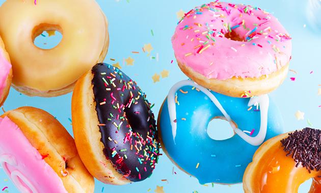 Afhalen: 6 of 12 donuts naar keuze