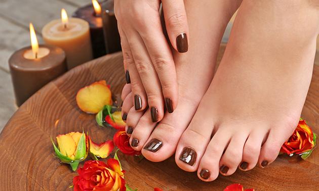 Gellak voor handen en/of voeten + verzorging