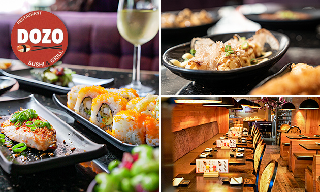 All-You-Can-Eat sushi en grillgerechten in hartje Den Haag