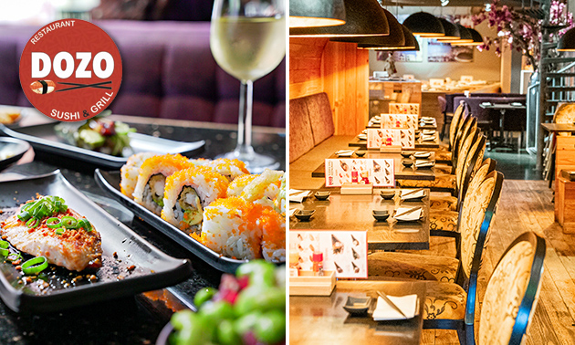 All-You-Can-Eat sushi en grillgerechten bij DOZO