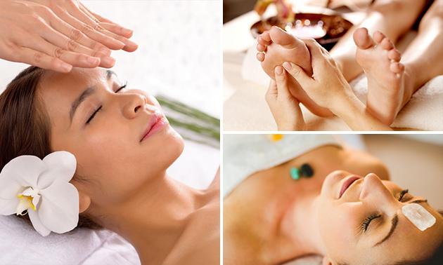 Stoelmassage of reikibehandeling