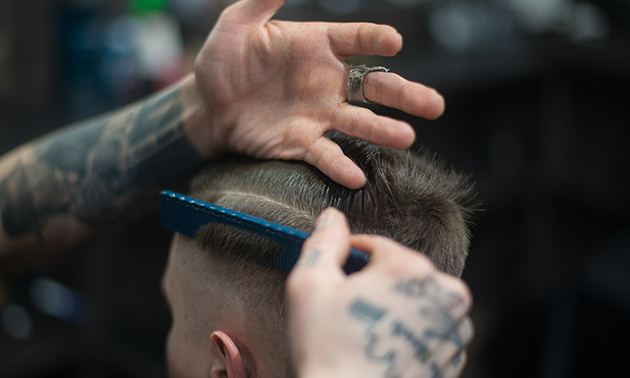 Barber treatment voor mannen