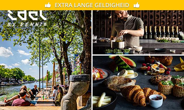 Luxe ontbijt + bubbels bij Edel by Dennis