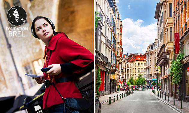 Promenade audio-guidée (2h40) à Bruxelles