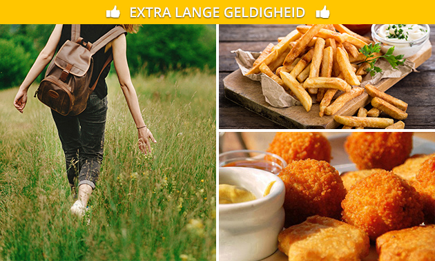 Wandelarrangement + high friet bij De Schaapskooi