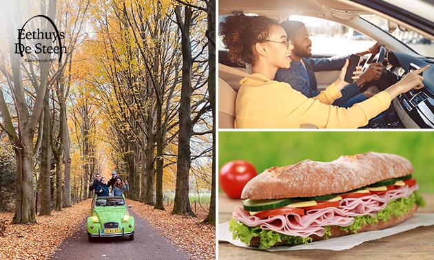 Auto-puzzeltocht + lunchpakket