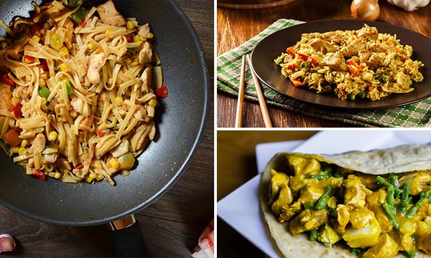 Afhalen: Surinaamse maaltijd naar keuze + frisdrank