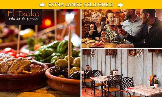 3-gangen tapasproeverij bij El Txoko in hartje Groningen