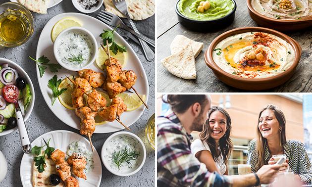 Thuisbezorgd of afhalen: Libanees diner + drankje