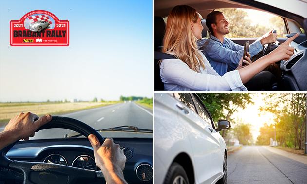 GPS-autospeurtocht voor 2-5 personen