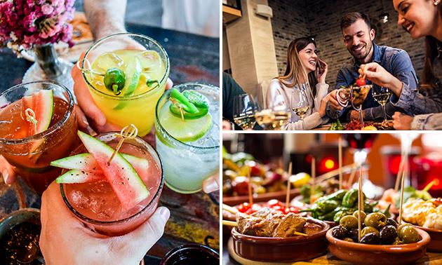 3 tapas brésiliennes + un cocktail au choix