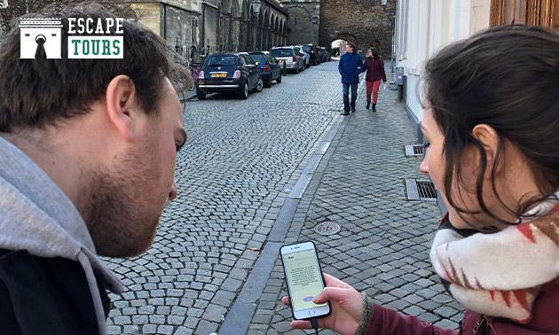 Interactief stadsspel (2 uur) voor 2-5 personen
