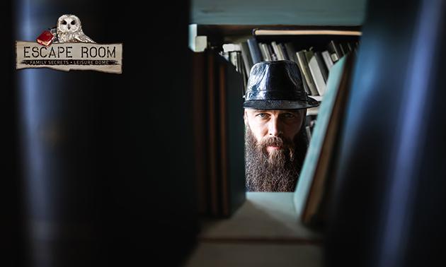 Escaperoom voor 2 tot 6 personen + bittergarnituur