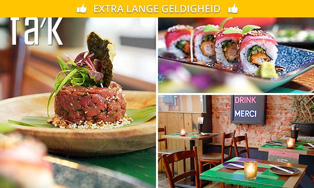 3 gerechten naar keuze + salade + friet bij FAK Utrecht