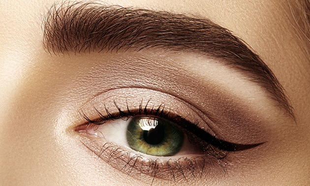 Permanente make-up (powder brows)