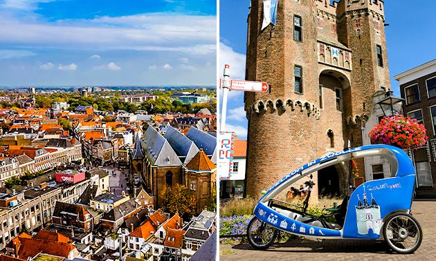 Stadstoer (1 uur) met Fietstaxi Zwolle