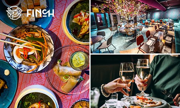 Thuisbezorgd of afhalen: shared dining-diner (11 gerechten)