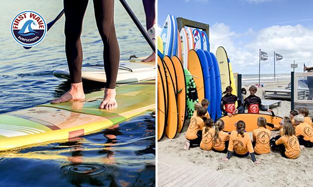 Stand-up paddle (2 uur) op het strand van Zandvoort