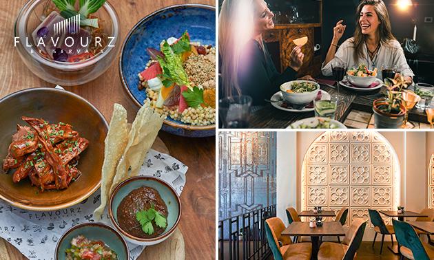 3-gangen sterrendiner- of lunch bij Flavourz by Servais