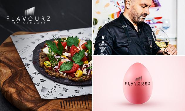 Thuisbezorgd: sharing paasbox (8 gerechten) + wijn van FlavourZ