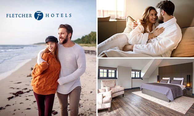 Overnachting voor 2 bij Fletcher Hotels
