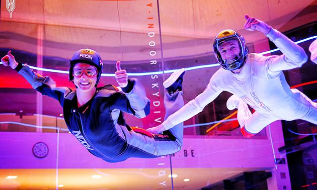 2 vols de simulation de chute libre