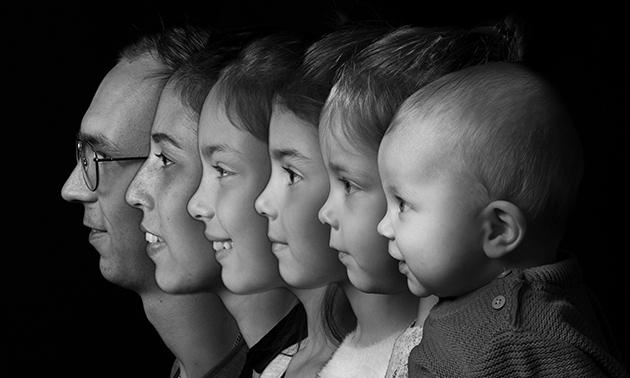 Fotoshoot (1-4 personen) + 1 digitale foto