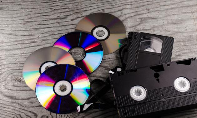 Videoband omzetten naar dvd bij Foto Tuerlings