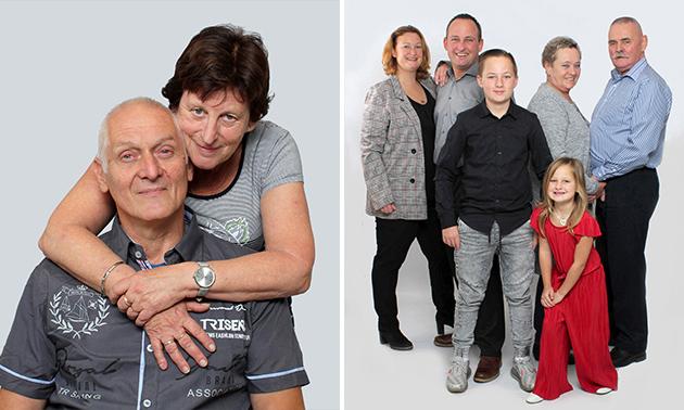 Fotoshoot (2-6 personen) + 1 digitale foto