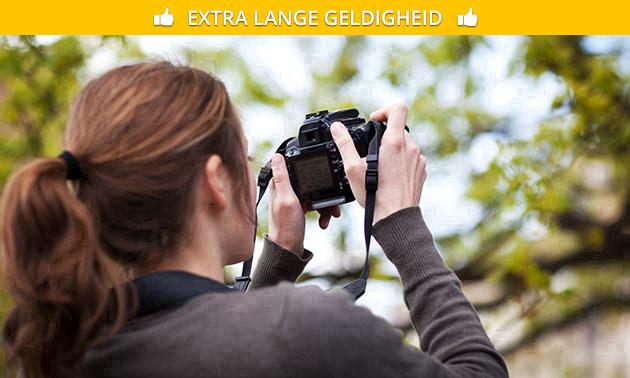 Workshop fotografie naar keuze (4 uur)