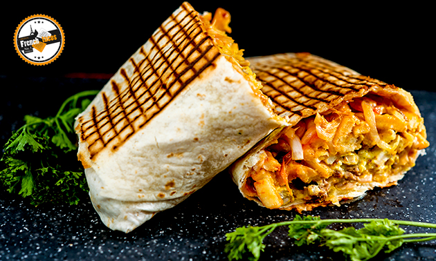 Afhalen: taco + frisdrank naar keuze