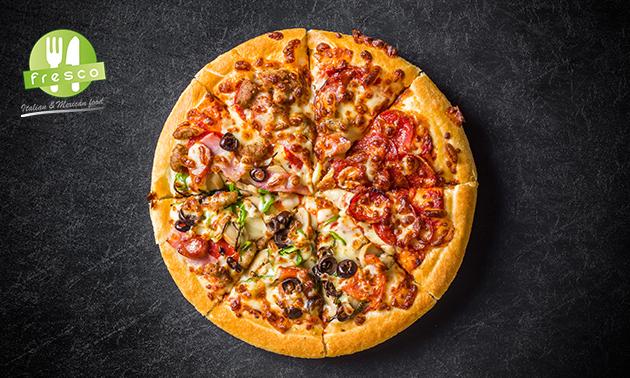 Thuisbezorgd of afhalen: pizza naar keuze