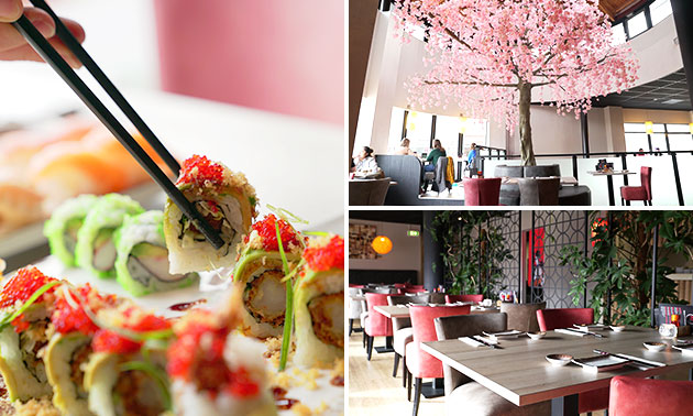 All-You-Can-Eat (3 uur) bij Fuji Sushi & Grill