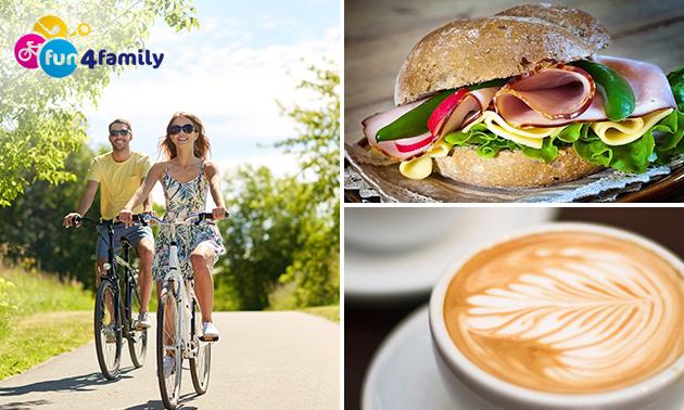 Fietsarrangement + koffie/thee + picknickmand