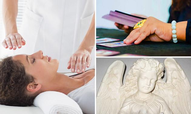 Energetische massage + engelenreading (60 min)