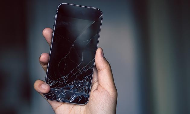 Schermreparatie iPhone of nieuwe batterij