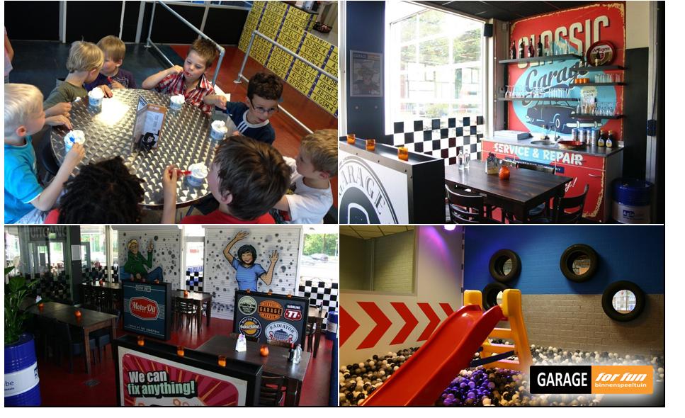 Garage For Fun Entree Voor Indoorspeeltuin Garage For Fun Bespaar