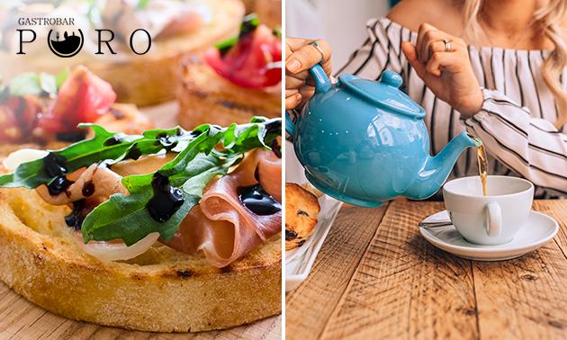 Afhalen: Italiaanse high tea + verse jus bij Gastrobar Puro