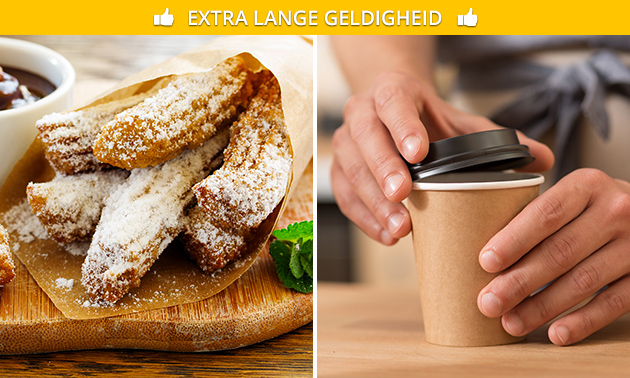 Afhalen: churros + warme Chocomel in hartje Den Bosch