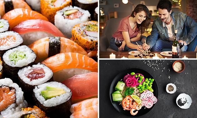 Afhalen: pokébowl of sushibox bij Genki Café