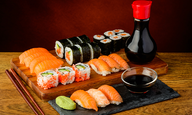 Afhalen: sushibox naar keuze