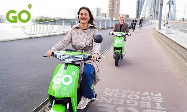 Elektrische scooter (50 min) van GO Sharing