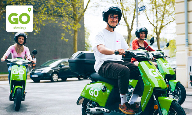 Huur elektrische scooter (12 uur) van GO Sharing